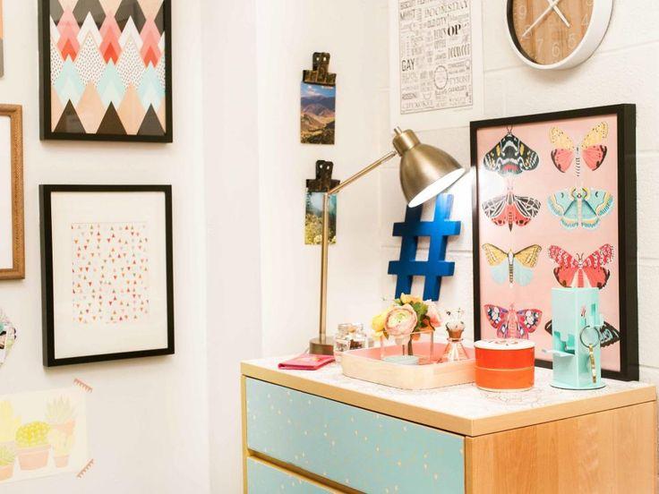 20 totally removable dorm room decor ideas