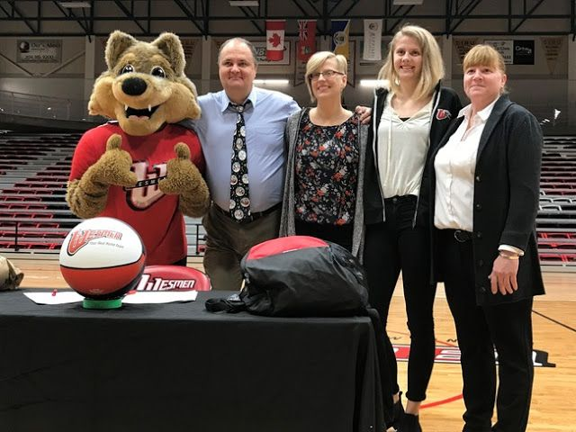 "Winklers Mikayla Funk Commits to University of Winnipeg Wesmen for 2018-19 Season   The 6-foot-2 post from Northlands Parkway Collegiate in Winkler has committed to Tanya McKay's Winnipeg Wesmen women's basketball program as part of the 2018 recruiting class. Funk who averaged 24.1 points 18.2 rebounds and 7.3 blocks per game last year signed her letter of intent in a halftime ceremony during the Wesmen win over the MacEwan Griffins Saturday night.  Mikayla with Team Manitoba in 2017  ""It's…"