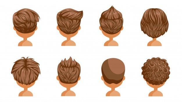 Variety Of Hairstyles Short Hair Drawing Boy Hairstyles Boy Hair Drawing