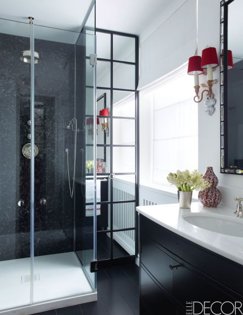 From sleek city bathrooms to rustic farmhouses, these black and white never fail to lift the aesthetic of a space.
