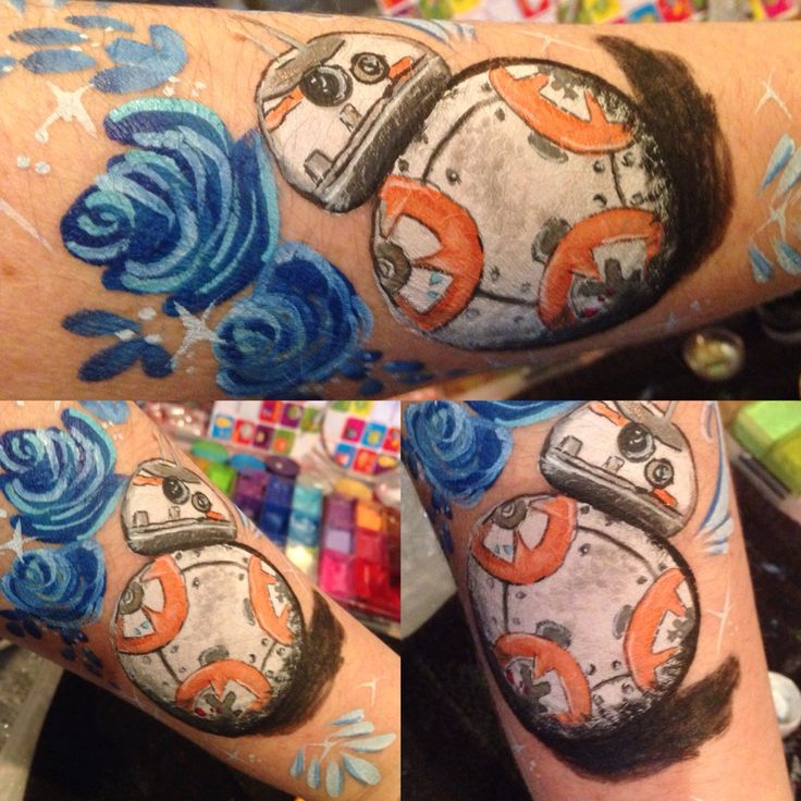 BB8 practice Star Wars