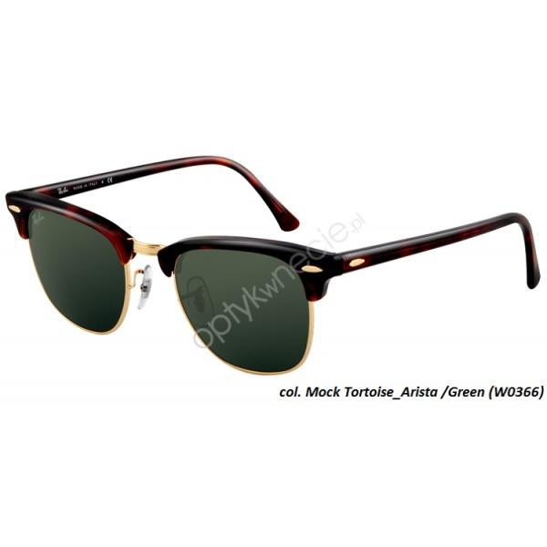 #RayBan #okulary #przeciwsłoneczne:: #Clubmaster rb 3016 col. W0366 49/21