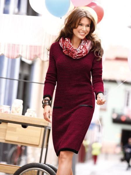 Piros és bordó Ősz/Tél – Ruhák, szoknyák, kabátok, kiegészítők | Nőivilág.hu