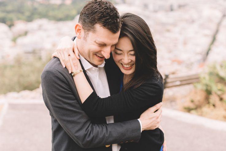 Brian & Akiyo Athens Surprise Proposal