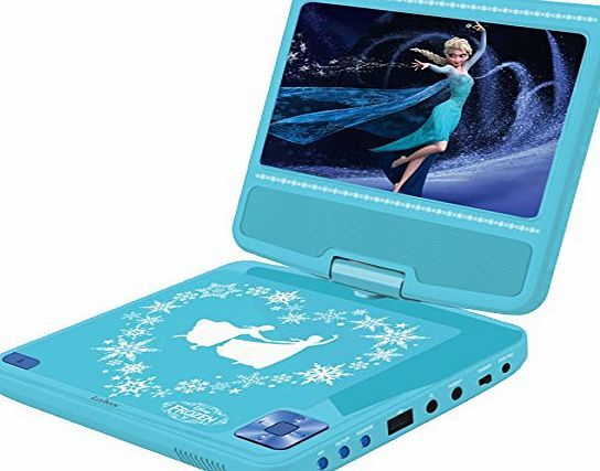 Disney Lexibook - DVDP6FZ - Frozen Portable DVD Player This cool Disney Frozen Portable DVD Player allows your little one to watch their favourite films on the move! The lightweight design means it can easily be popped into a (Barcode EAN = 9560457806521)