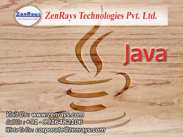 HURRY! Join Java training for Gurgaon, Bangalore and other locations. Options - (Classroom or Online classes) Duration: 1.5 months. Hands-on Java Training and Live Project. Course Fee - Rs. 9,000/- (Inclusive of Tax) Call 9916482106 to know more.