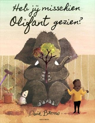 Heb jij misschien Olifant gezien / David Barrow. Een jongetje en zijn olifant spelen samen verstoppertje. Olifant vertelt dat hij er heel goed in is. Het jongetje kan Olifant inderdaad nergens vinden, want hij heeft zich verstopt achter de televisie, onder de lampenkap en op meer lastige plekken. Prentenboek met grappige kleurenillustraties. Vanaf ca. 4 jaar. (Verstoppertje)
