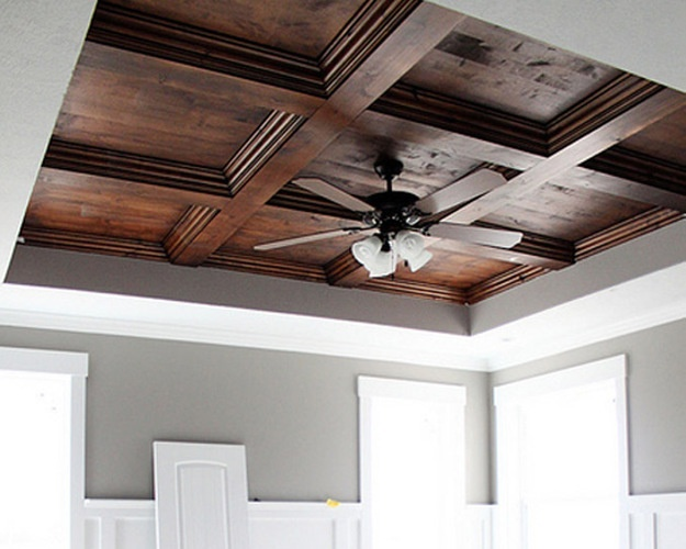 Как сделать деревянный потолок своими руками: мастер-класс