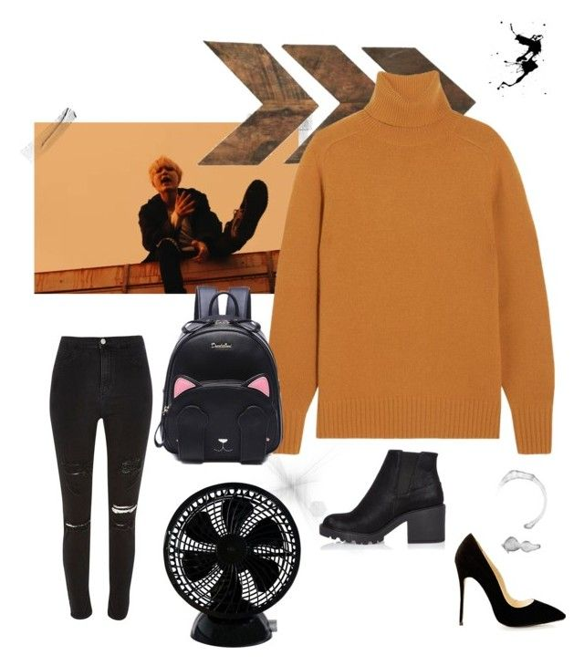 """High neck"" by annelenelala on Polyvore featuring River Island and Chloé"