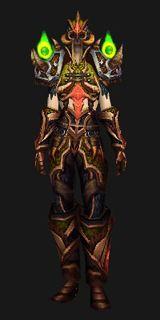 Sunwell Hunter Armor - Transmog Set - World of Warcraft