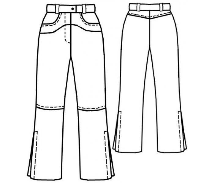 данном джинсы технический рисунок год того получал