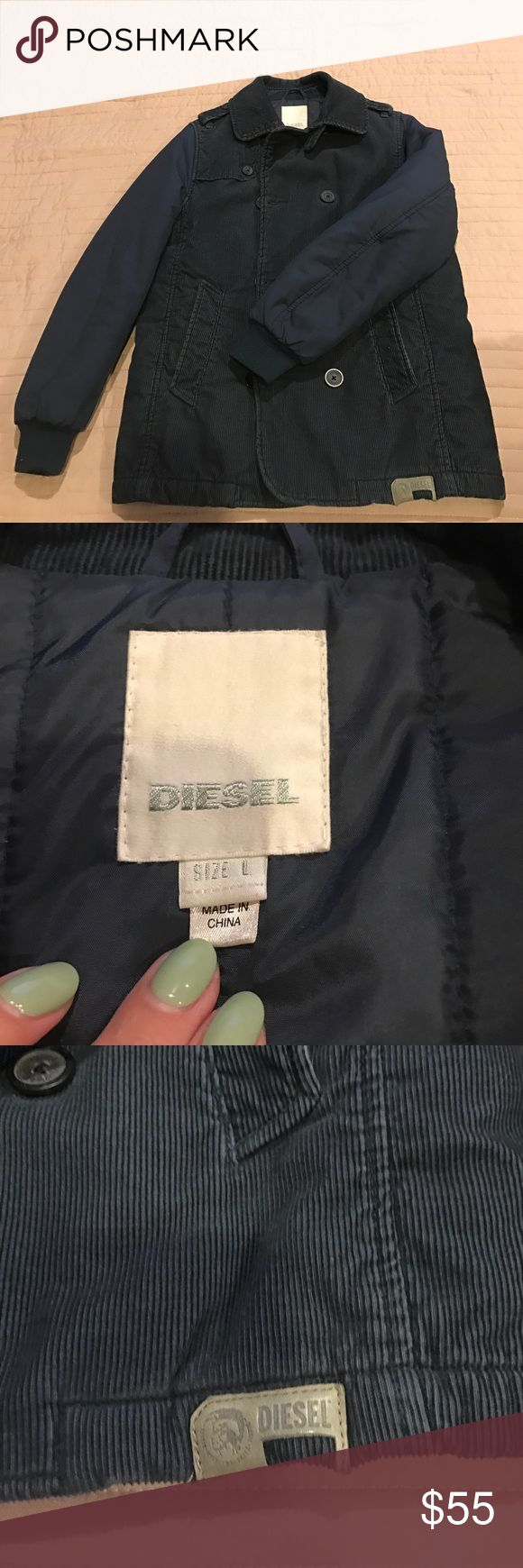 Boys Diesel coat sz L will fit (10/12yo) Boys Diesel coat sz L will fit (10/12yo) Diesel Jackets & Coats Pea Coats