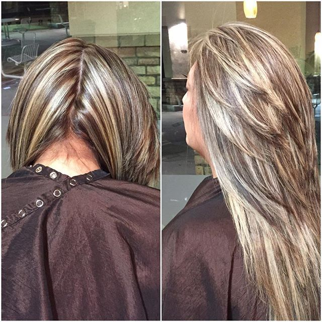 500 best chunky streaks lowlights 4 images on pinterest websta hairbybecky client wanted chunky highlights all over and contrast highlights blondehighlights pmusecretfo Choice Image