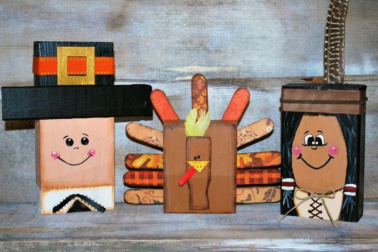 Wood Block Craft Ideas ~ Best arrangements wood images on pinterest christmas