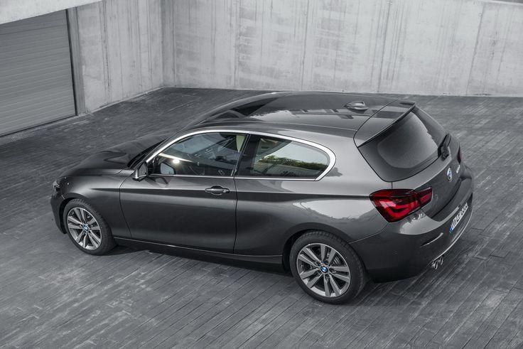 A l'instar de l'Audi A3, la BMW Série 1 est disponible en carrosserie 3 ou 5 portes.