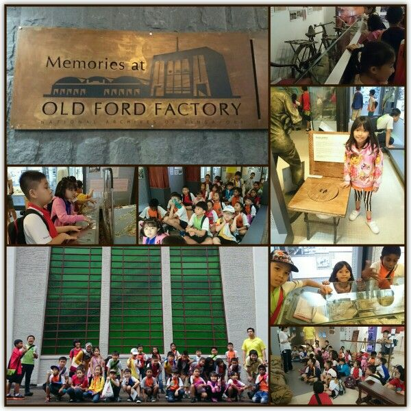 Champions went out for learning journey to Memories @ Old Ford Factory. The kids were guided through an Exhibition of Japanese Occupation. They were treated to a short video on the Malay Regiment.