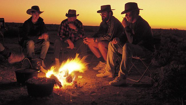 campfire Aussie culture and traditions