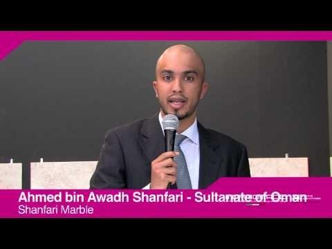 Marmomacc 2012: Ahmed bin Awadh Al Shanfari interview (Shanfari Marble, Oman)