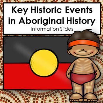 HASS Key Historic Events Aboriginal Australia 12 Slides on Australian History