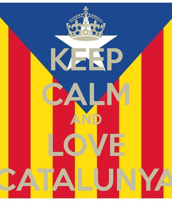 KEEP CALM AND LOVE CATALUNYA