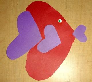 Shape crafts preschool
