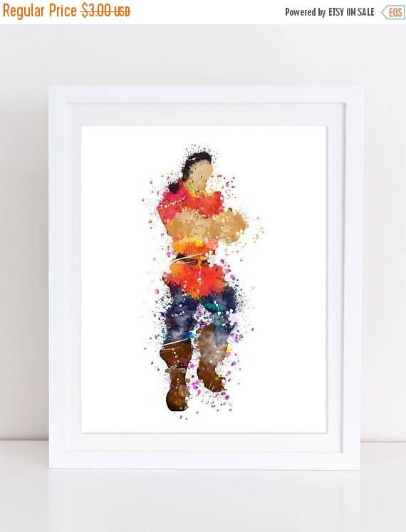 70%OFF Gaston Watercolor Poster Gaston Printable Beauty And