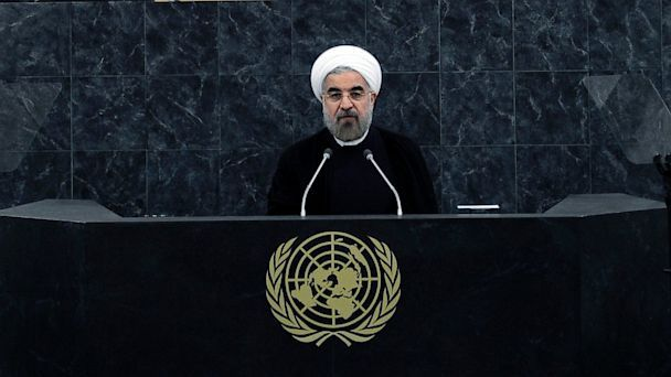 Iranian president says no plans of nuclear weapons, warns U.S. about Syria. Interesting- first time a high ranking U.S. official has attended a Iranian president's speech in years