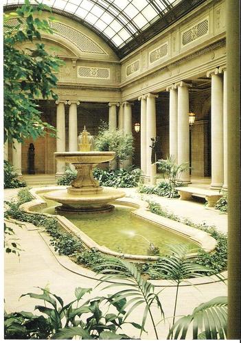 atrium at the Frick
