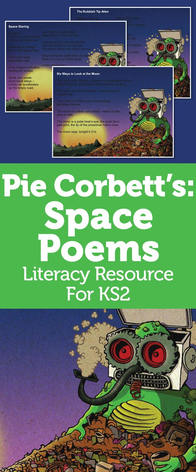 Pie Corbett Poetry For KS2 – Space Poems For Creative Descriptive Writing