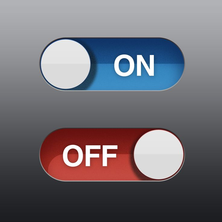 This UI reverses the conventional Positive/Negative placement.