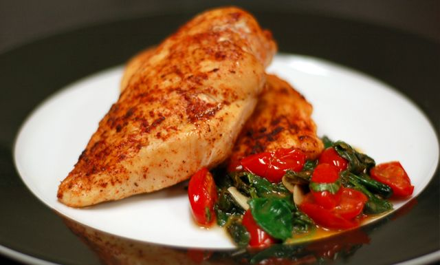 Blackened chicken nuwave or conventional oven all meal for Nuwave chicken and fish