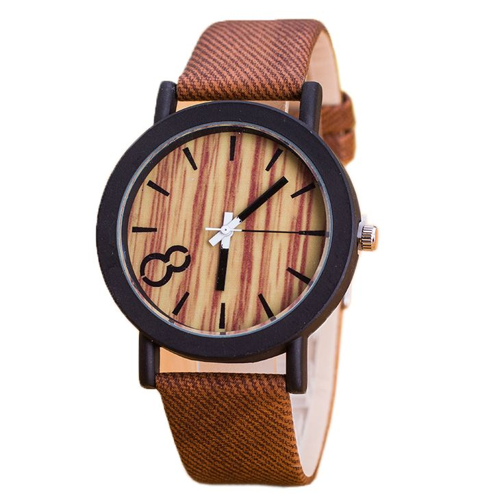 Simulation Wooden Relojes Quartz Men Watches Casual Wooden Color Leather Strap Watch Wood Wristwatch Relogio Masculino L-W20310 #CLICK! #clothing, #shoes, #jewelry, #women, #men, #hats, #watches