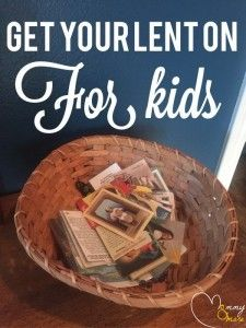 Get your lent on: Let's do more than give up sweets and sodas. This is a list of ideas for Lenten commitments for kids and families. Prepare for Easter!