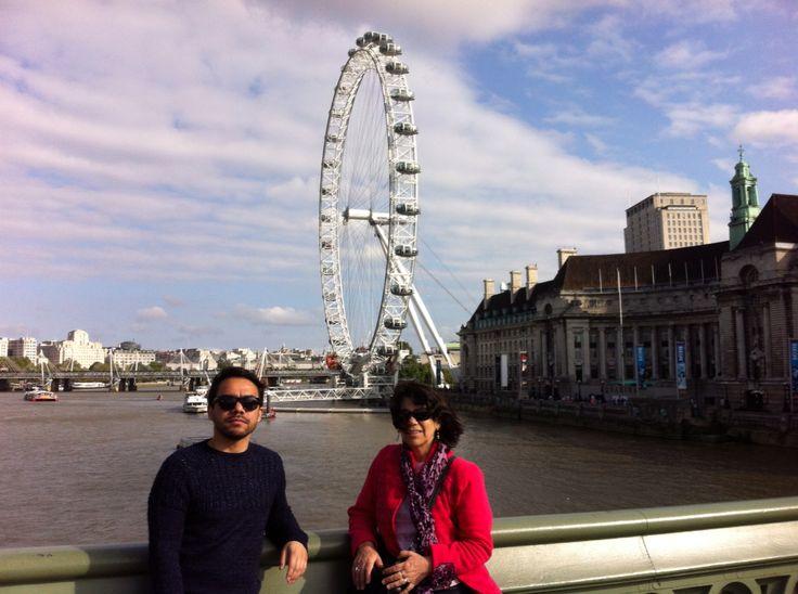 London. Letty y Diego