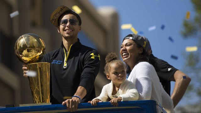 Stephen Curry's Wife Ayesha Shares Adorable Pic of Daughter Ryan