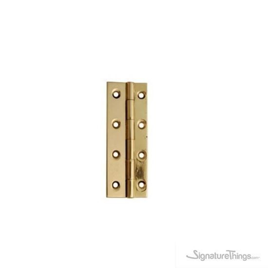 "BRASS BUTT HINGE - 2MM - small hinges for jewelry box on ##Bulkzon  Delicate in appearance to enhance the beauty of miniature products like boxes, small doll houses, gifts & jewelry box etc..  Thickness : 2 MM (1/16"" Inch) Easy to install Made of Brass Available in multiple finishes :     #Brass #Hinges #CabinetHinges #BoxHinges #GiftsBoxHinges #DoorHinge"