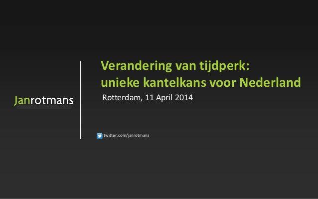 NVSM - 11 april2014 by janrotmans via slideshare