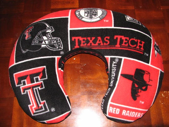 Texas Tech Nursing Pillow Cover by PitterPatterBliss on Etsy, $20.00