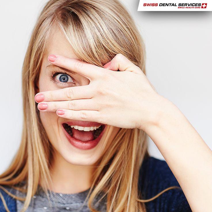 Saviez-vous que sourire aide à lutter contre les rides ? www.swissdentalservices.com/fr