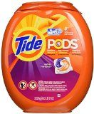#7: Tide Pods He Turbo Laundry Detergent Packs Spring Meadow 81 Count
