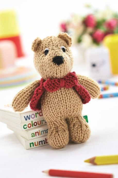 George Bear - FREE pattern by Amanda Berry! - perfect for Operation Christmas Child boxes