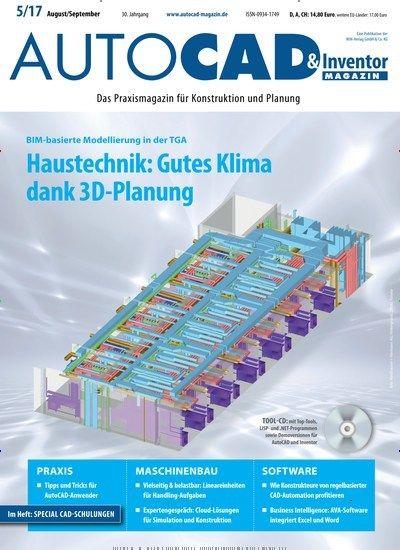 BIM-basierte Modellierung in der TGA: Haustechnik: Gutes Klima dank 3D-Planung 💡 Jetzt in Autocad & Inventor Magazin.  #Innovation