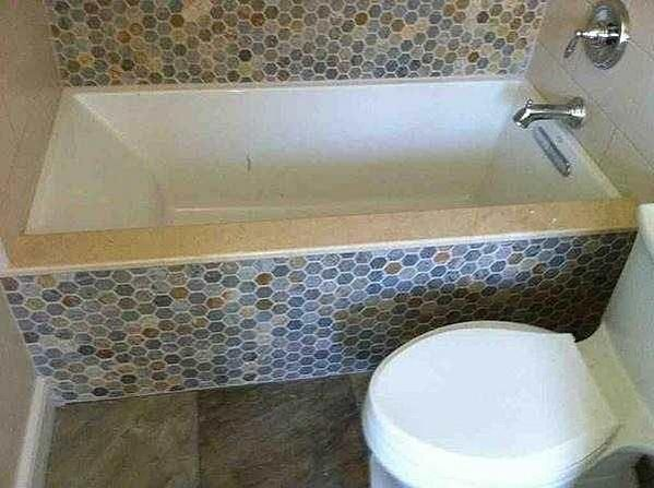 Undermount Tub With Tiles Under Mount Tub With Shower