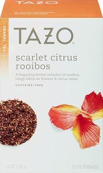 Tazo Tea Scarlet Citrus Rooibos (6x20 Bag)