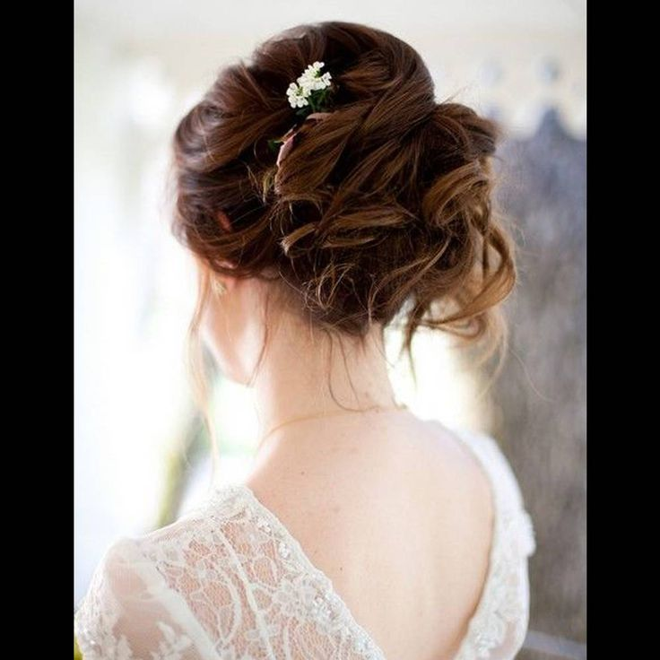 Bride Hairstyles Interesting 83 Best Mariage Coiffure Images On Pinterest  Bridal Hairstyles