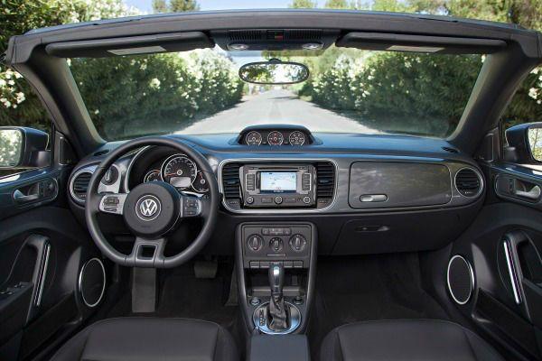 Volkswagen Beetle 2015 Interior