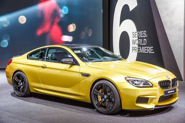 BMW M 6 Coupe Gold...... My dream car