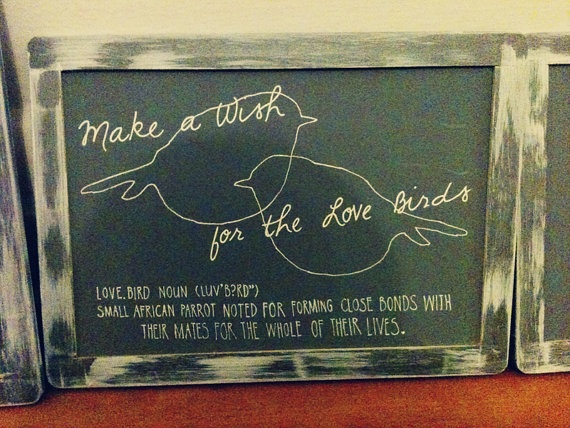 Wedding Chalkboard Typography Design & by thesimmplethings on Etsy. $50.00, via Etsy.