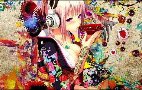 Colorful Anime Wallpaper 800 600
