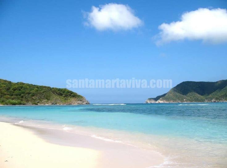 CHENGUE - toda una playa mágica y encantadora #SantaMarta #Tayrona